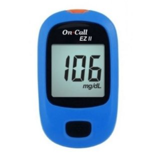 Máy đo đường huyết On call Plus EZ II (Xanh) thumbnail