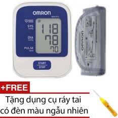 Hình ảnh Máy đo huyết áp Omron HEM 8712 (Trắng) + Tặng dụng cụ ráy tai có đèn màu ngẫu nhiên