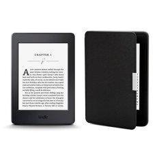 May Đọc Sach Kindle Paperwhite 2017 Va Bao Da Đen Inox Nguyên