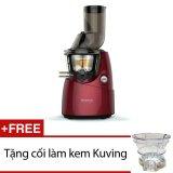 Giá Bán May Ep Trai Cay Kuvings Ns 668R 4L Đỏ Tặng 1 Cối Lam Kem Kuving Hang Nhập Khẩu Kuvings Nguyên