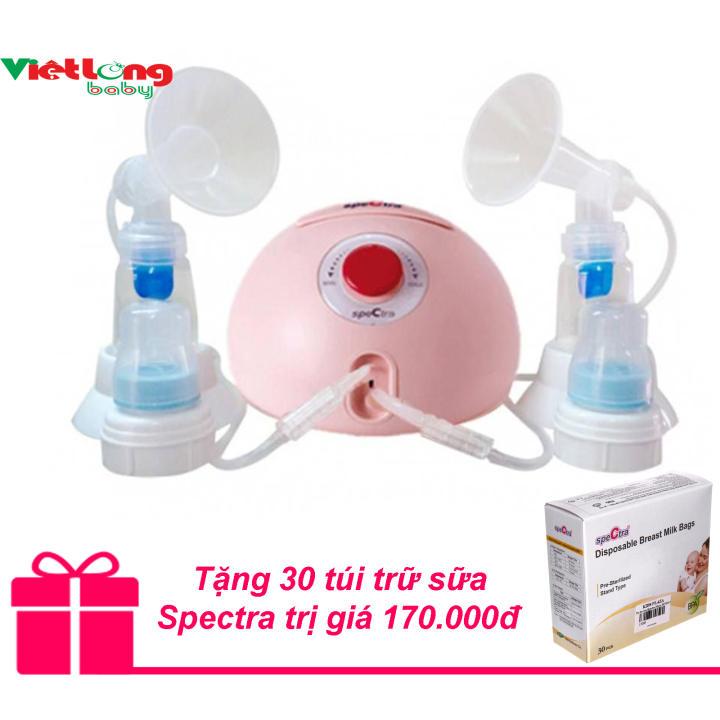 Máy hút sữa đôi Spectra Dew 350 + Tặng 30 túi trữ sữa Spectra trị giá 170.000đ