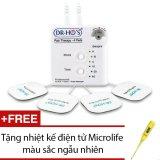 Ôn Tập May Massage Xung Điện Trị Liệu Dr Ho New Tặng Nhiệt Kế Điện Tử Microlife Mau Sắc Ngẫu Nhien Trong Hồ Chí Minh