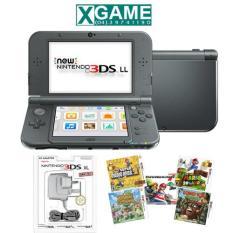 Mua May New 3Ds Ll Mau Đen Hacked Nintendo Trực Tuyến