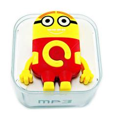 Máy nghe nhạc hình minion Protab MP3 ( vàng phối đỏ)