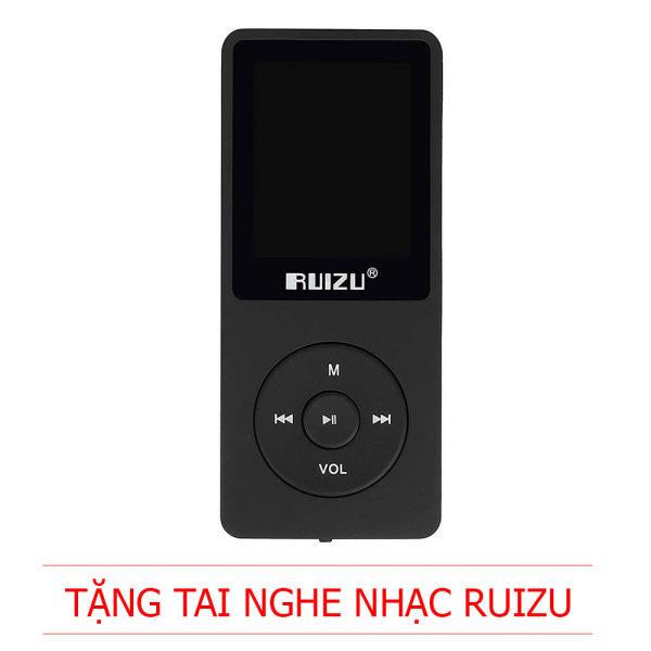 RUIZU X02 - Máy nghe nhạc MP3  [Tặng tai nghe]