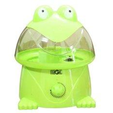 Máy phun sương tạo ẩm hình ếch Magic (xanh lá)