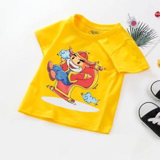 Áo tết cho bé trai, bé gái (6kg - 28kg) đồ tết cho bé trai, bé gái 2021 quần áo trẻ em tết Tân Sửu áo thun tết CITYMEN thumbnail