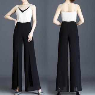 [HCM]Quần nữ quần thời trang quần tây quần xẻ ống chất liệu đẹp kiểu dáng sang trọng thumbnail