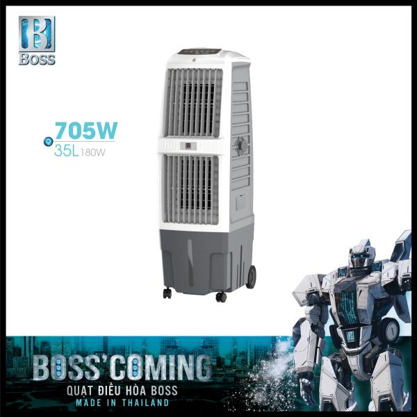 Bảng giá Quạt điều hòa không khí Boss FEAB-705-W - 35 lít - 180W | Bảo hành 12 tháng chính hãng | Made in Thailand