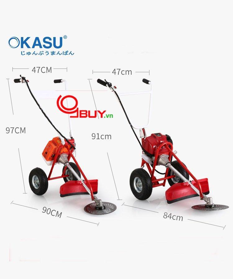 Máy cắt cỏ đẩy tay GX 35 - Máy cắt cỏ chất lượng c.ao