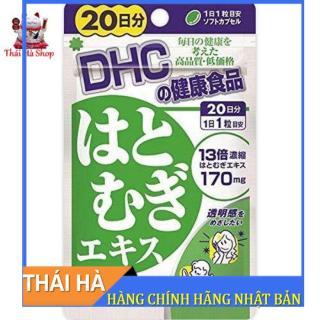 Viên Uống DHC Trắng Da 20 Viên Giúp Trắng Sáng Da Ngăn Ngừa Lão Hoá thumbnail