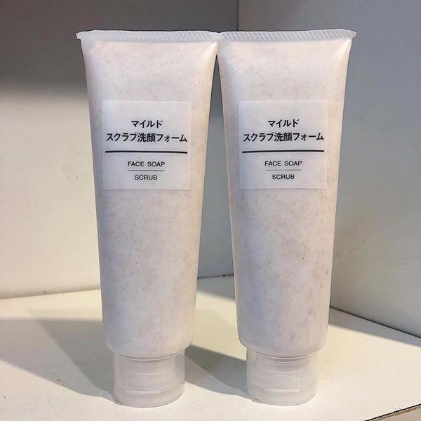 TẨY DA CHẾT MUJI FACE SOAP SCRUB 120G NHẬT BẢN tốt nhất