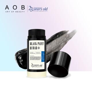 Thanh rửa mặt tẩy mụn đầu đen và đầu trắng 23 Years Old Black Paint Rubar Cleansing Stick 45g thumbnail
