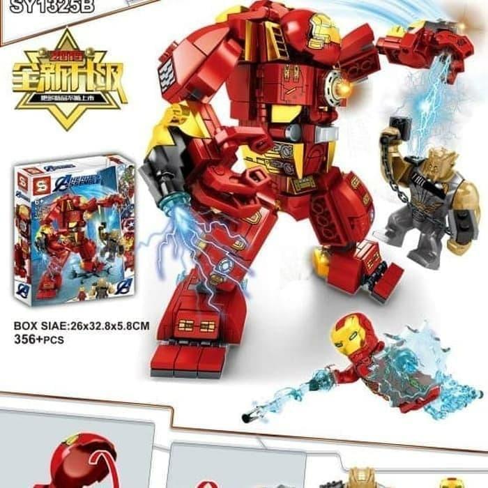 Mã Giảm Giá Lego Biệt Đội Siêu Anh Hùng - Người Sắt - IRON MAN HULKBUSTER 1325
