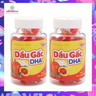 Viên uống dầu gấc DHA Vinaphar Hộp 100 viên thumbnail