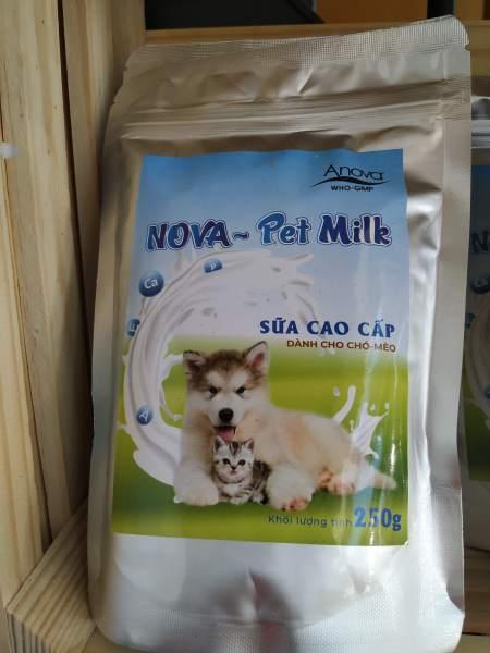 Sữa dinh dưỡng cung cấp năng lượng như sữa mẹ cho chó mèo 250g