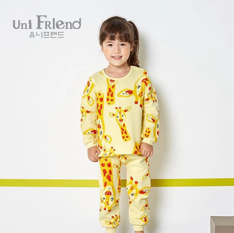 Giá bán Bộ đồ dài bé gái Unifriend uni0553