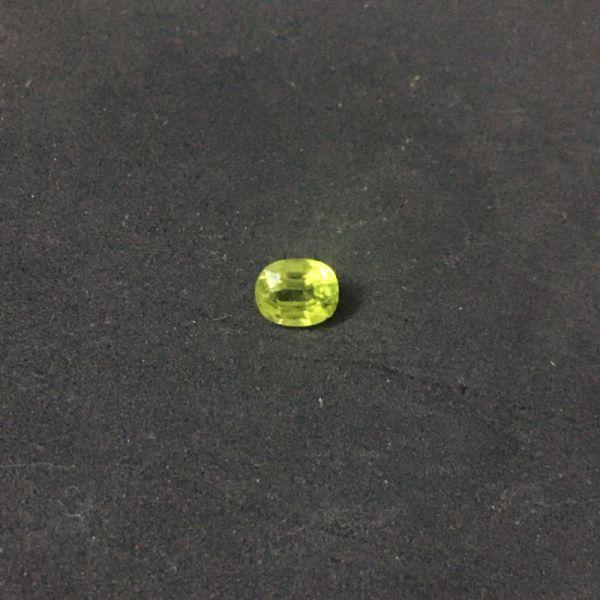 Mặt đá ngọc olivin peridot thiên nhiên oval nhiều size