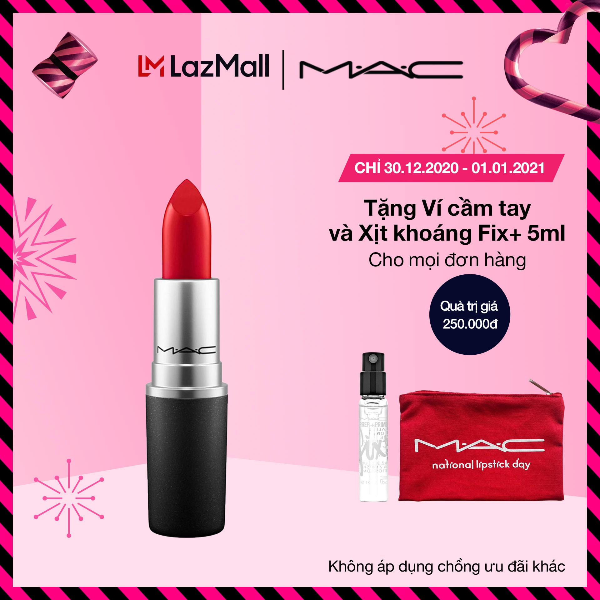 Son môi MAC Cremesheen Lipstick 3g