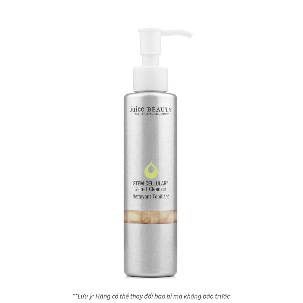 Sữa rửa mặt hữu cơ cao cấp cân bằng độ pH Juice Beauty Stem Cellular 2-in-1 Cleanser