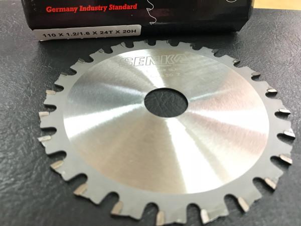 Lưỡi cắt sắt hợp kim cao cấp SENKA 110mm x 24 răng