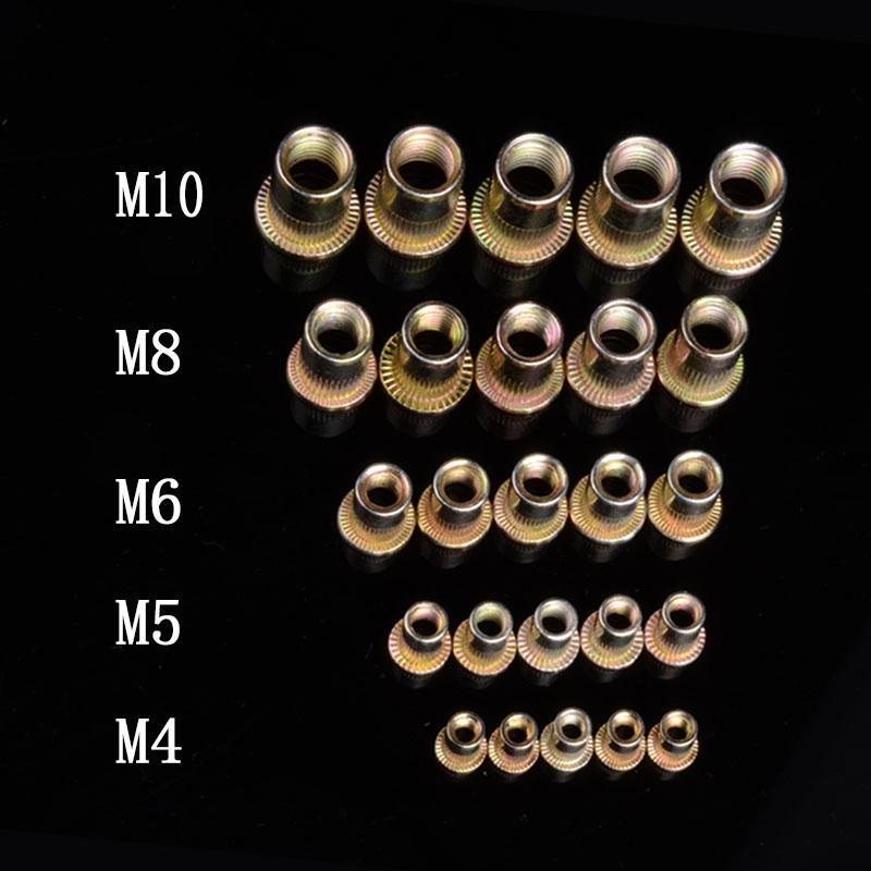 Mã Khuyến Mại Combo 100c Ecu Rút M4 , Ecu Tán Rút  M4, đai ốc Rút M4, ốc Rút Tán M4
