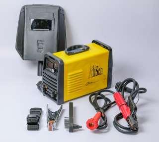 Máy hàn điện tử, máy hàn que, hàn hồ quang chuyên dụng chính hãng Alisen MMA250 - Bộ phụ kiện dây hàn dây mát mo hàn + quai đeo, may han mini thumbnail
