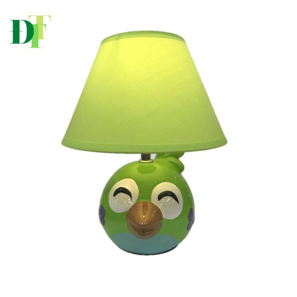 Đèn ngủ để bàn gốm sứ Điện Quang DL14 (Thân hình chim, bóng Led 5W, warmwhite)