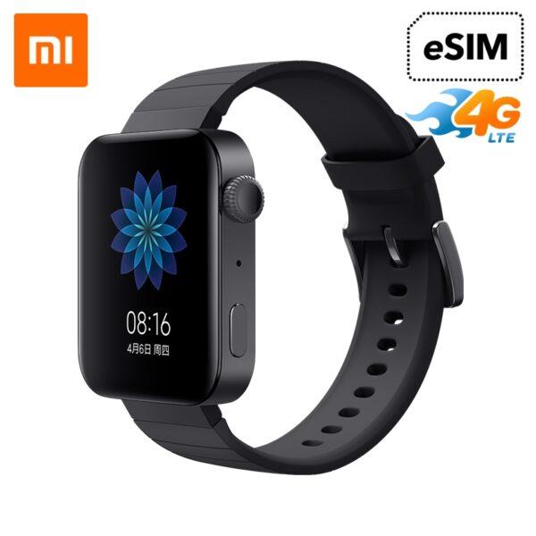 [Nhập ELAPR21 giảm 10% tối đa 200k đơn từ 99k]Đồng hồ thông minh Xiaomi Mi Watch Esim 4G Wear Os