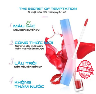 Son kem lì LAMEILA Velvet lip glaze lên màu cực xinh cực HOT thumbnail