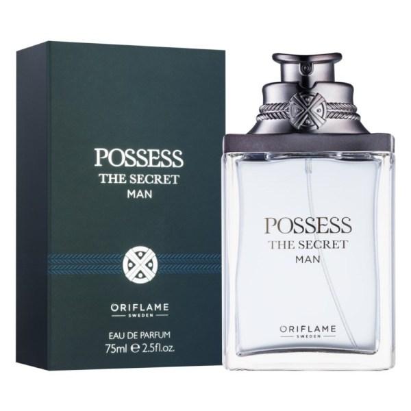 Nước hoa nam Posess The Secret Man Eau De Parfum Cao Cấp Chính Hãng 75ml