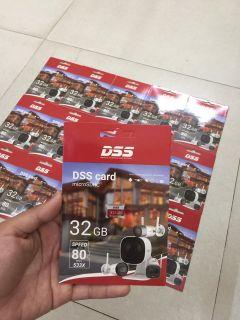 Thẻ nhớ DSS Mirco SD 32GB 80MB s chuyên ghi hình cho camera thumbnail