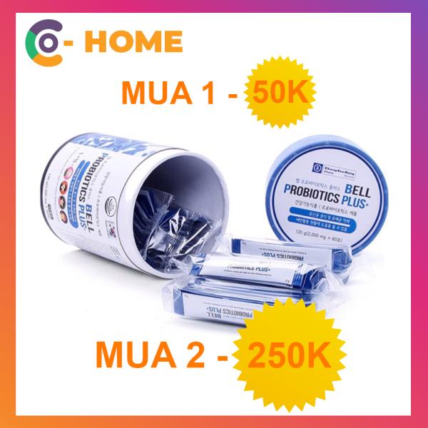 Men vi sinh hỗ trợ tiêu hóa ChongKunDang Bell Probiotics 60 gói - Mua 1 giảm 50k - Mua 2 giảm khủng 250k - Made in Korea