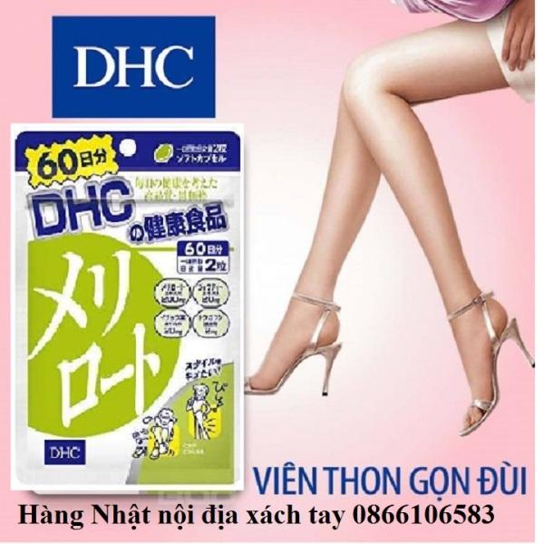 Viên uống giảm mỡ đùi thon gọn đùi DHC 20 ngày