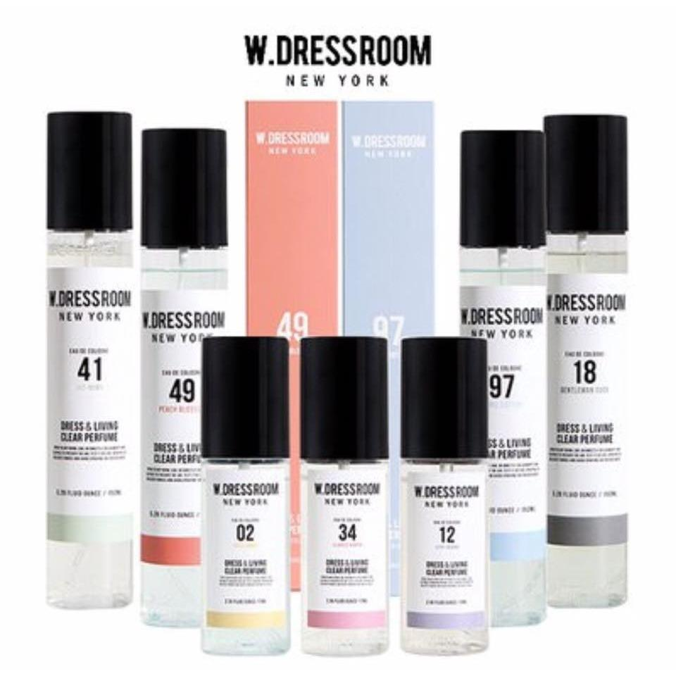Nước xịt thơm W.Dressroom 70ml Hàn Quốc các OPPA tin tưởng lựa chọn