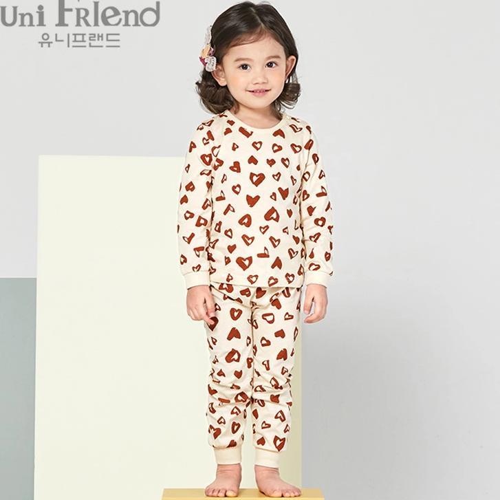 Giá bán Bộ đồ dài bé gái Unifriend uni0557