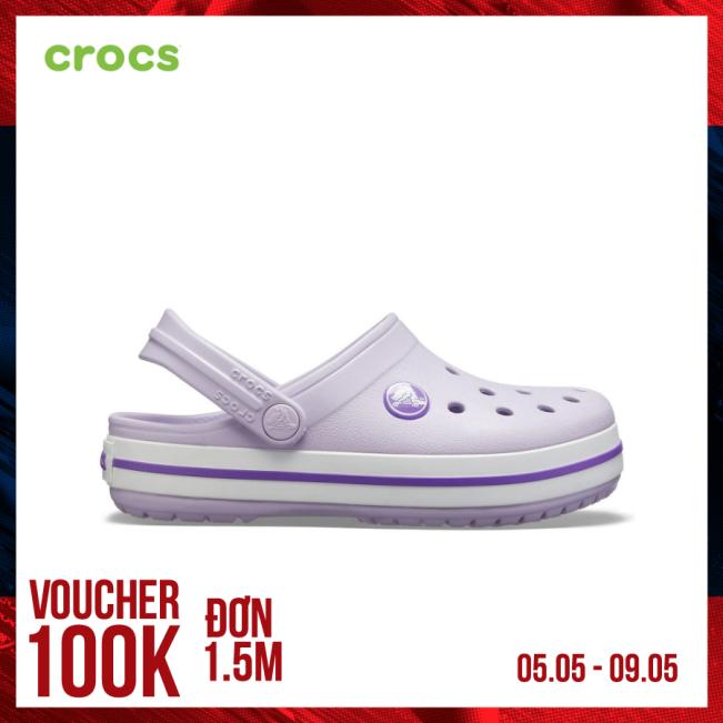 CROCS Giày Clog Trẻ Em Crocband Electric 204537 giá rẻ
