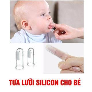 Tưa lưỡi silicon mềm cho bé thumbnail