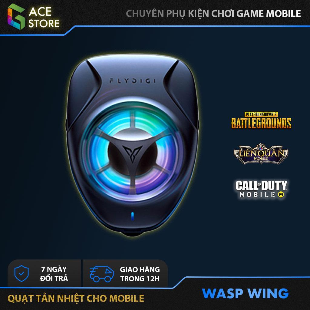 Flydigi Wasp Wing | Quạt Tản Nhiệt Gaming Cho điện Thoại Và Máy Tính Bảng Duy Nhất Khuyến Mại Hôm Nay