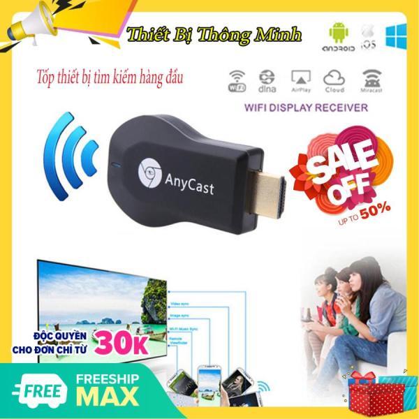Kết nối điện thoại với Tivi, HDMI không dây. Kết nối điện thoại với tivi HDMI không dây anycast M6 Plus tốc độ kết nối siêu nhanh-Miễn phí đổi trả nếu sản phẩm bị lỗi-Bảo hành uy tín 6 tháng tại SCG 24h