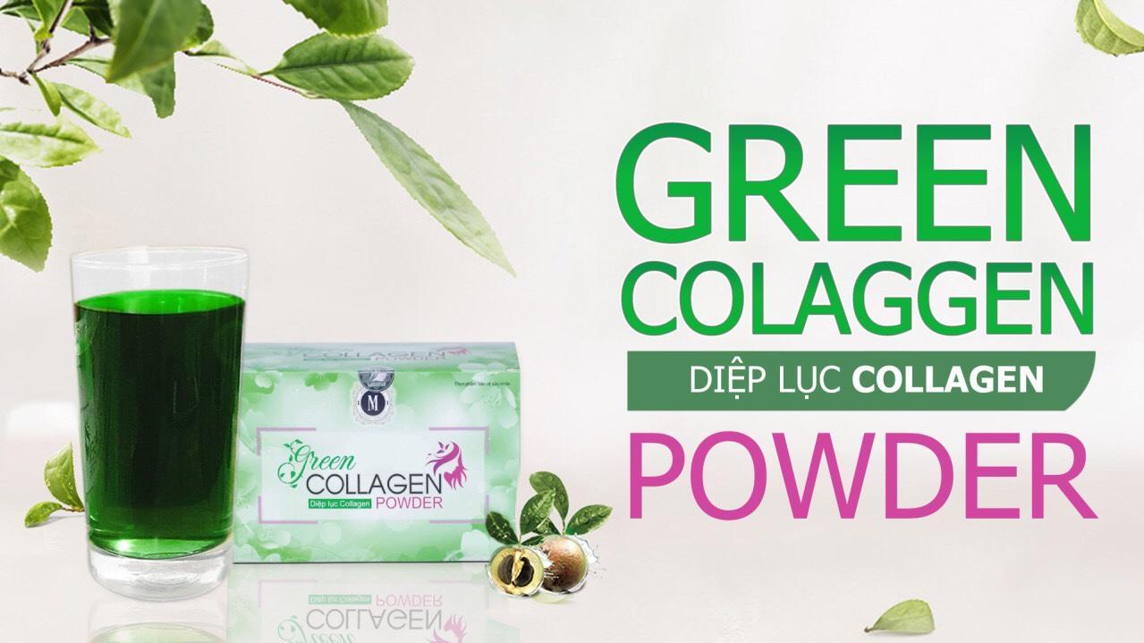 Diệp lục Collagen – Bổ xung dưỡng chất, thải độc, đẹp da. tốt nhất