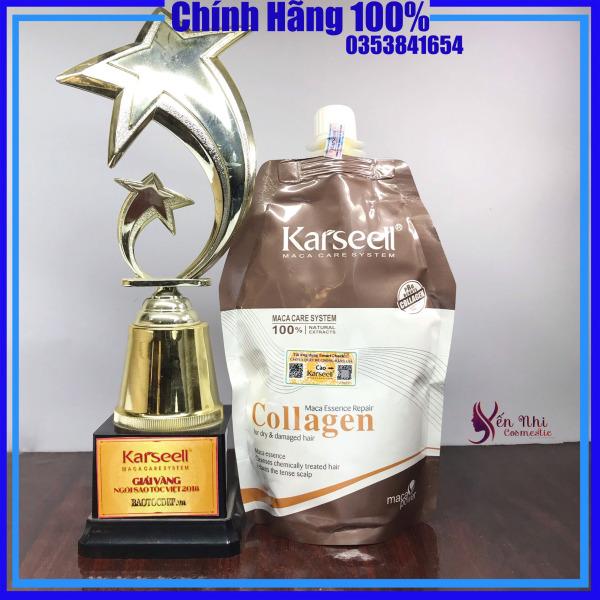✅[ Karseell - CHUẨN CHÍNH HÃNG ] Hấp tóc  - ủ Tóc - Collagen Karseell - Karseell Maca- mỹ phẩm tóc yến nhi cao cấp