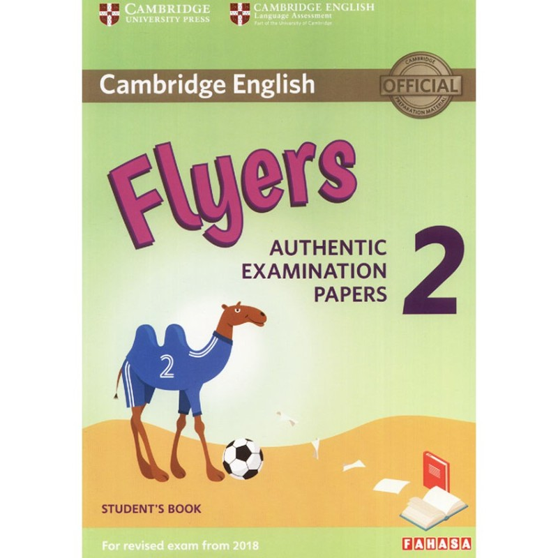 Bộ 3 cuốn Cambridge English Flyers Examination + File Nghe kèm Key- Sách luyện thi chứng chỉ Flyer