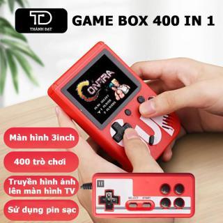 Máy chơi điện tử 4 nút cầm tay - Máy chơi game SUP 400 game trong 1 thumbnail