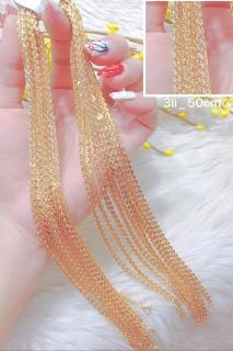 Dây chuyền nữ mạ vàng 18K cao cấp JK Silver, thiết kế tinh xảo cao cấp giá rẻ, trang sức hottrendU.daychuyen430 thumbnail