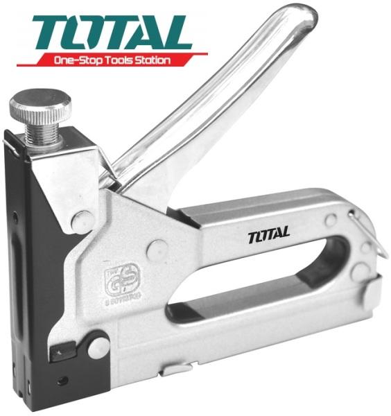 Kìm bấm đinh ghim điều chỉnh tăng lực 4-14mm Staple Total THT31141