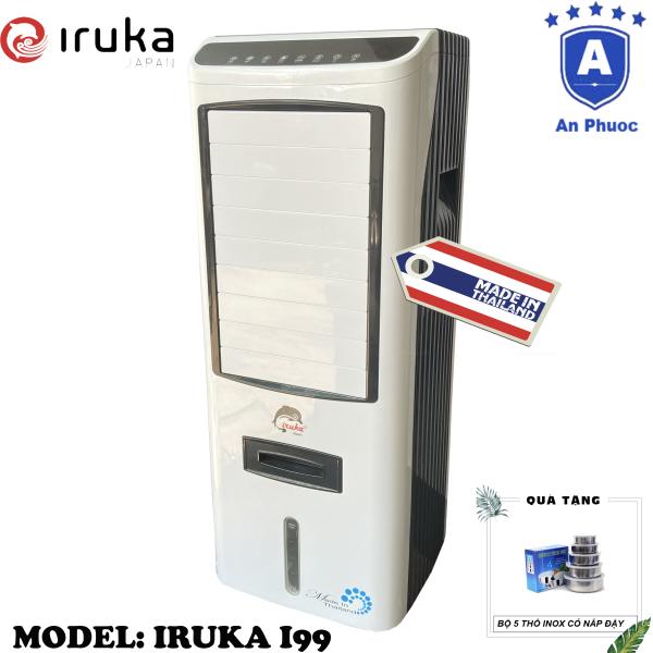Bảng giá Quạt hơi nước làm lạnh không khí Iruka I99 Made In Thái Lan | Công suất 200W | Màn hình cảm ứng có remote điều khiển | BH 12 Tháng Tại Điện Máy LACI | Tặng Bộ 5 Thố Inox