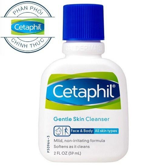 Sữa Rửa Mặt & Body Cetaphil Gentle Skin Cleanser 29ml - Quà Tặng Không Bán Khuyến Mãi Sốc