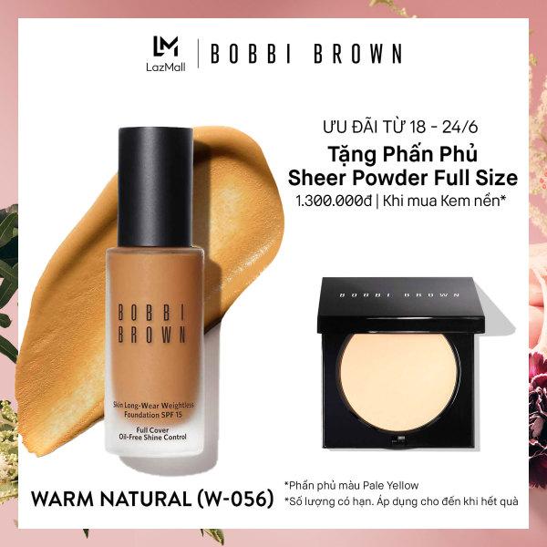 Kem nền kiềm dầu lâu trôi Bobbi Brown Skin Longwear Weightless Foundation SPF 15 30ml giá rẻ