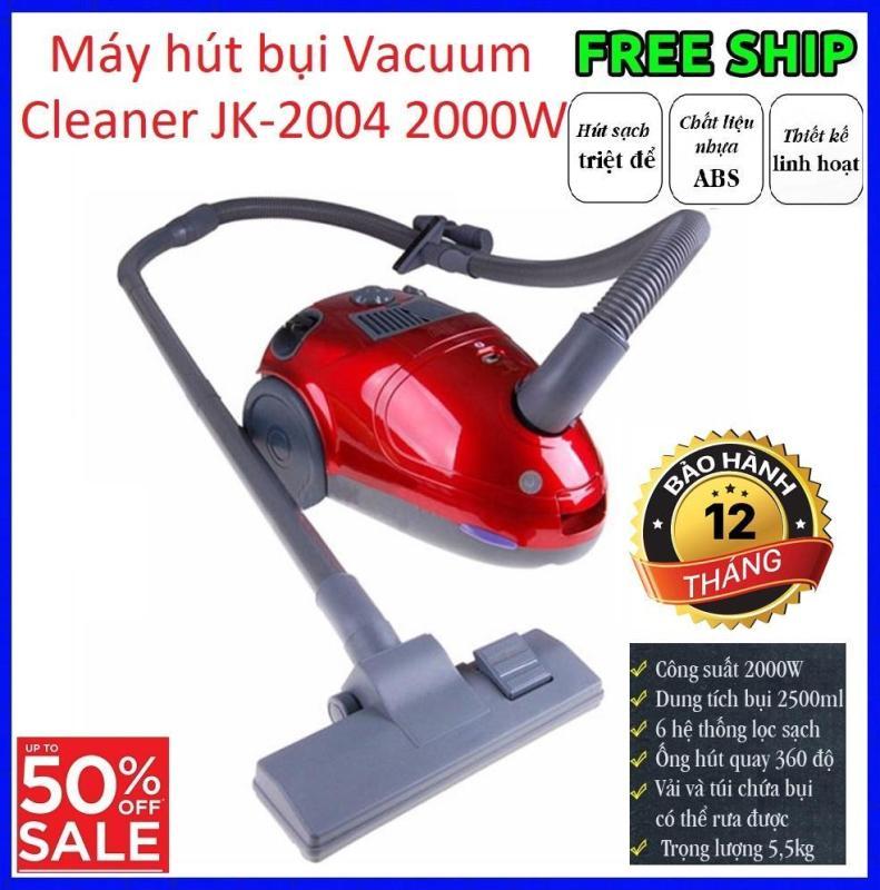 Máy hút bụi to Vacuum Cleaner JK-2004 2000W / Máy Hút Bụi Đa Năng JK Model 2004 2000W Máy Hút Bụi Công Suất Lớn, Làm Sạch Mọi Ngóc Ngách Tiện Dụng Và Chất Lượng Bảo Hành 12 Tháng